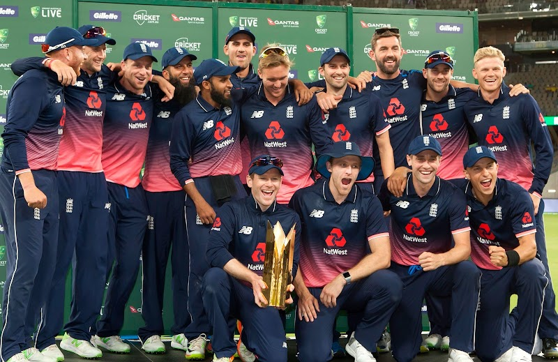 ENGLAND'S PRELIMINARY SQUAD FOR ICC CRICKET WORLD CUP 2019