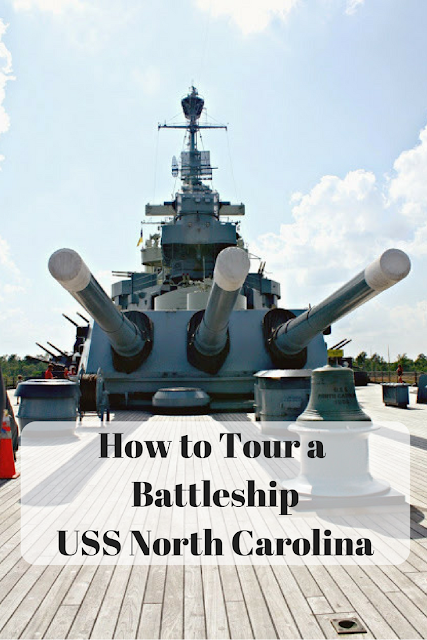 How to Tour a  Battleship USS North Carolina
