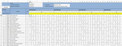 Aplikasi Software Dan Minat Karir Holland 1.1 [File Excel]