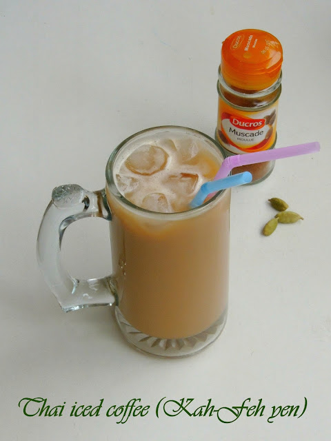 Thai iced coffee (Kah-Feh yen),Iced Coffee- Thai Version