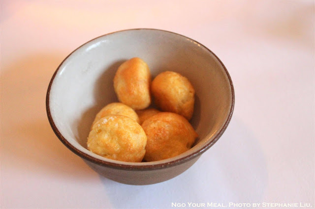 Gougeres with Grated Gruyere 2006 at Eleven Madison Park in New York City