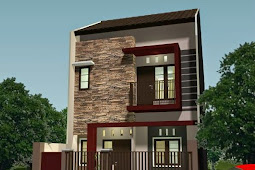 5+ Contoh Gambar Rumah Minimalis 2 Lantai Type 36/60