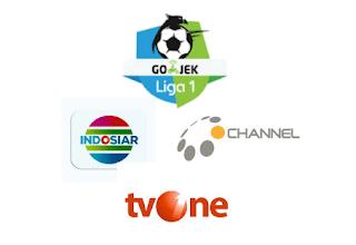 Stasiun TV Yang Menyiarkan Gojek Liga 1 2018