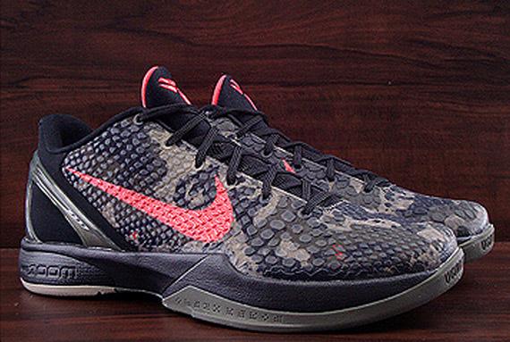 big sale 3a7df 4dbbe Nike Zoom Kobe 6. Black   Khaki – Olive – Crimson 429659-900. June 4 2011