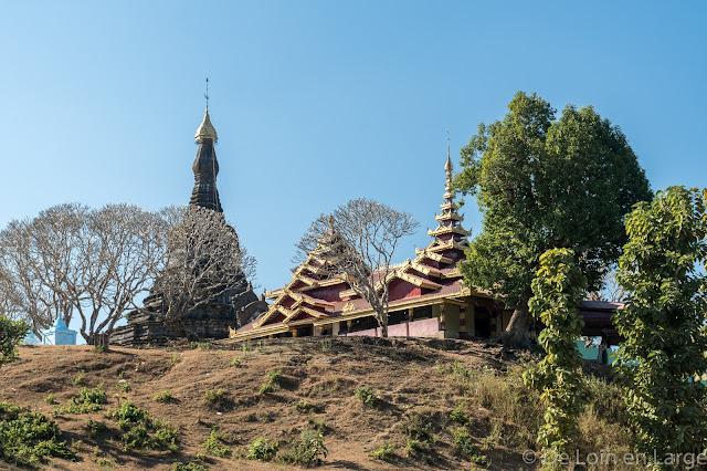 Monastère Sanda Muni Phara Gri-Mrauk-U-Birmanie-Myanmar