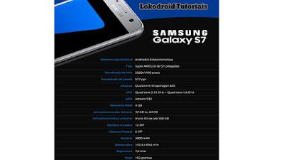 Samsung Galaxy S7 Especificações