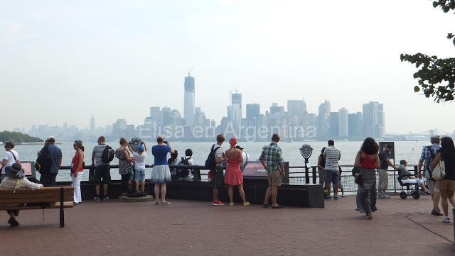 New York, Manhattan, été, Top of the Rock, elisaorigami, Liberty Island
