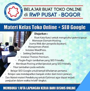 belajar seo untuk pemula di RWP Grup Bogor