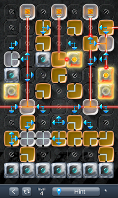 Solution for Laser Box - Puzzle (Extra) Level 4