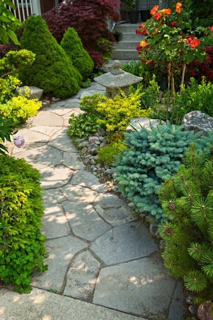 Garden Paths Cool Decision