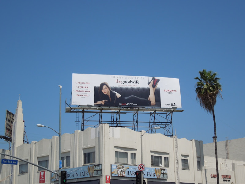 Good Wife Emmy 2012 billboard