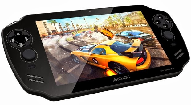 Archos unveils the Gamepad 2, the second generation of its delivered Android 4.2 (Jelly Bean) handheld. Featuring an IPS screen and a better finish, it sold starting at 242 dollars.