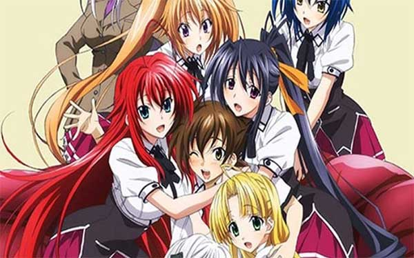 Best hard ecchi - High School Dxd