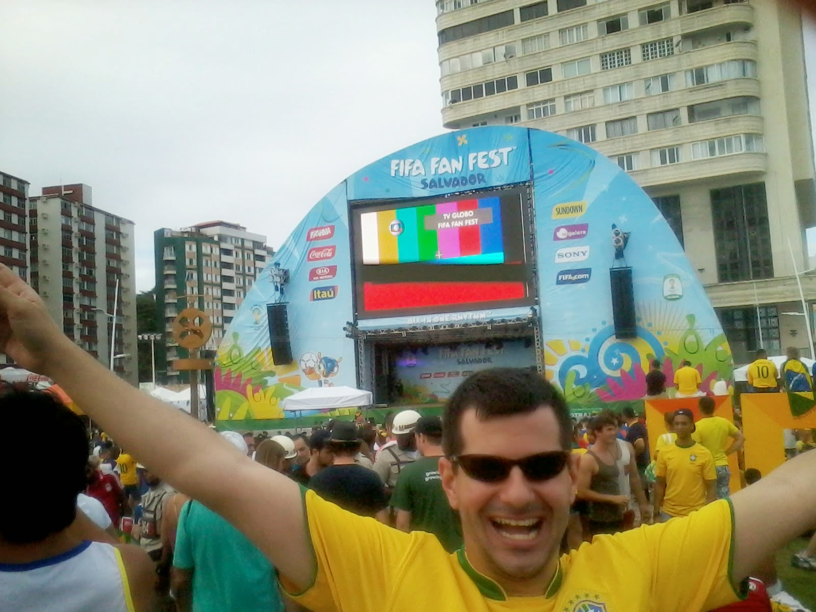 Fifa Fan Fest Salvador - Bahia - Copa do Mundo Brasil 2014 - Farol da Barra
