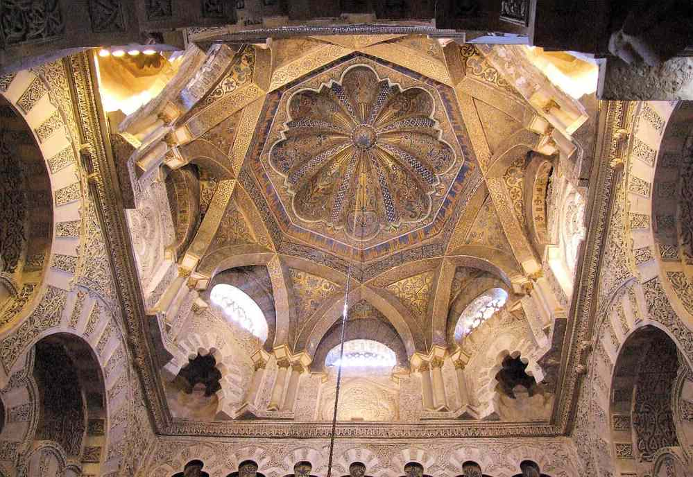 Great Mosque of Cordoba, spain. Image: SantiMB