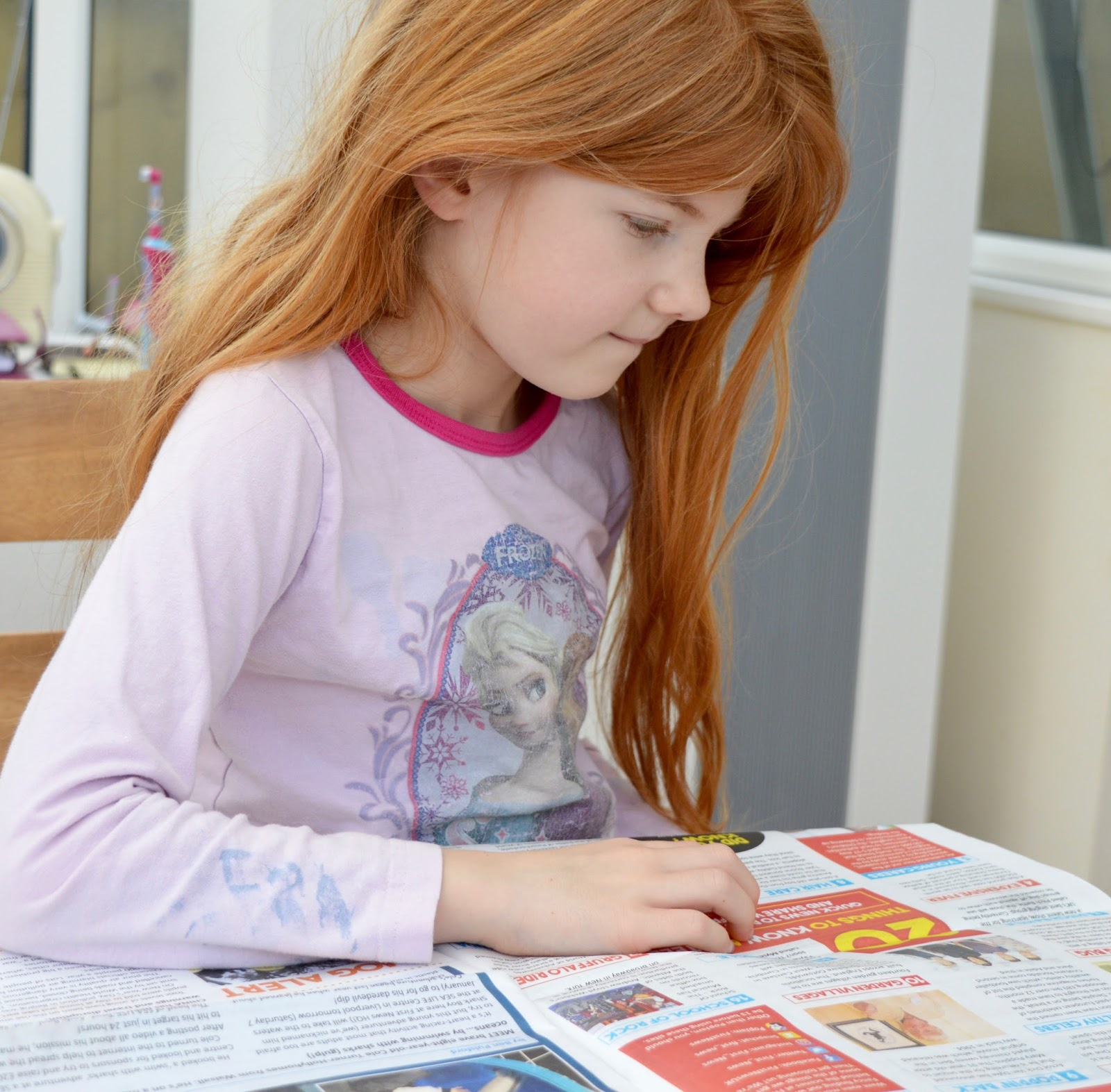 First News Newspaper features and review. A fantastic resource to encourage discussion for children and young people aged 7- 14 years. Plus a special trial offer for our readers.  - Heidi reading