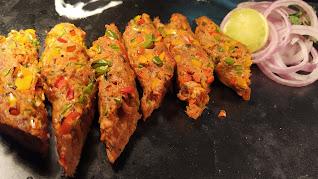 Lamb Gilafi Seekh Kebab Food Recipe Dinner ideas