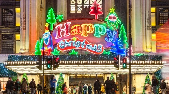 How is Christmas celebrated in the USA