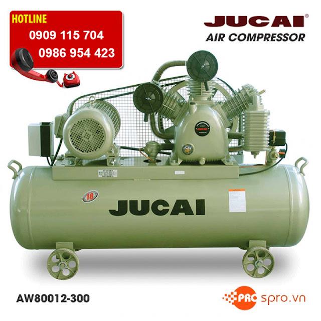 Máy nén khí piston bình chứa 300 lít dành cho nhà máy công nghiệp