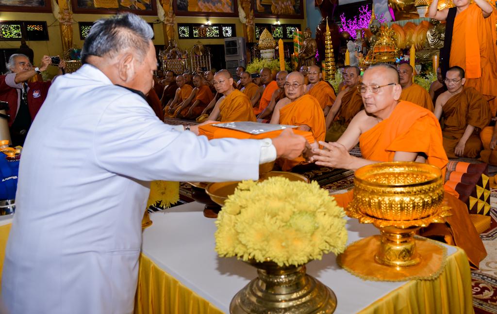 Đại lễ Đạo Phật: Hoàng Gia Thái Lan làm lễ dâng y Kaṭhina tại thiền viện Phước Sơn Đồng Nai