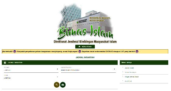 Versi Kemenag yang diprintout dari laman TERLENGKAP JADWAL IMSAKIYAH RAMADHAN 1440 H  2019 M VERSI KEMENAG