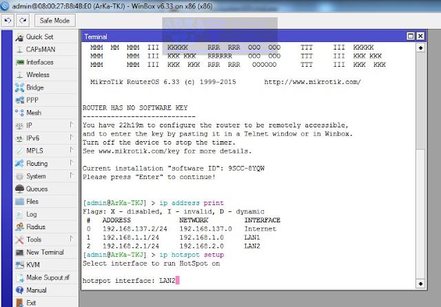 Interface LAN2