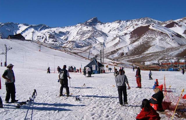Centro de Esqui em Mendoza, Argentina