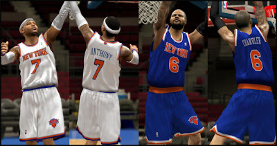 NBA 2K13 Knicks Home & Away Jersey Fix Patch