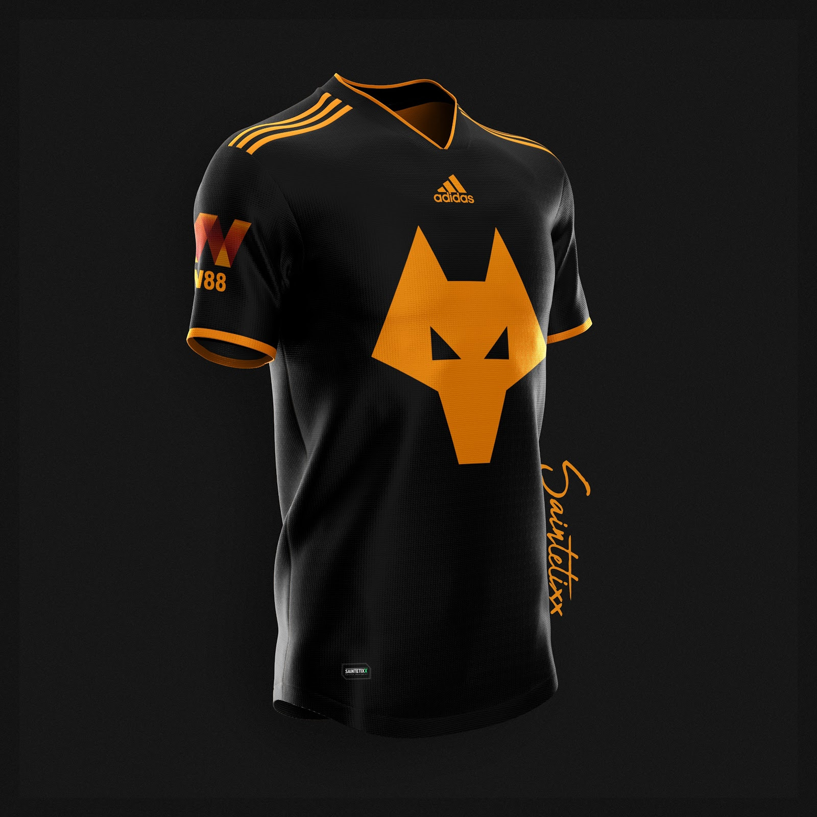 Amazing Adidas Wolves 19 20 Home, Away & Third Concept Kits