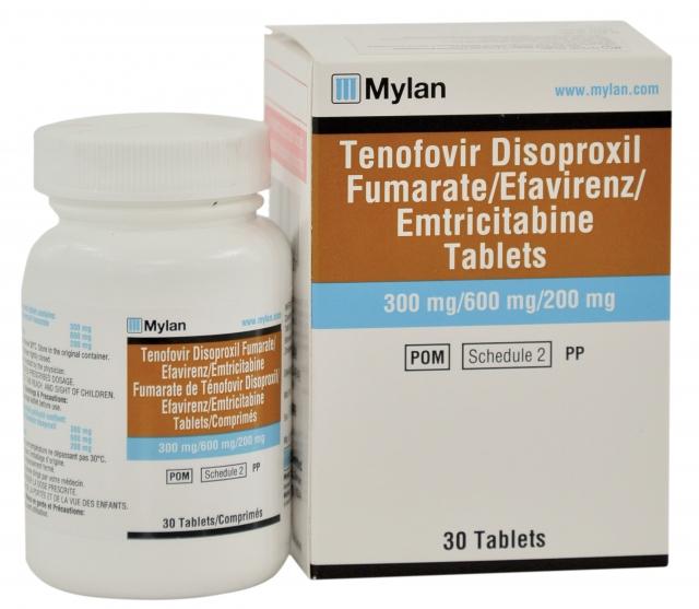 Efavirenz Emtricitabine Tenofovir Disoproxil