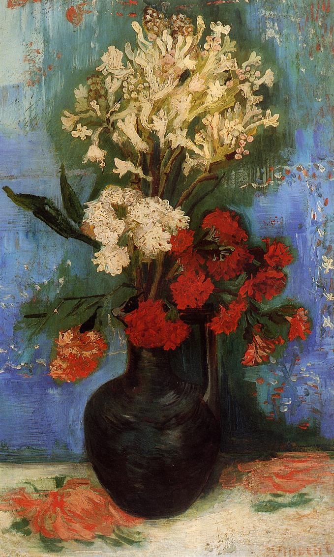Vincent Van Gogh Flowers Part 1