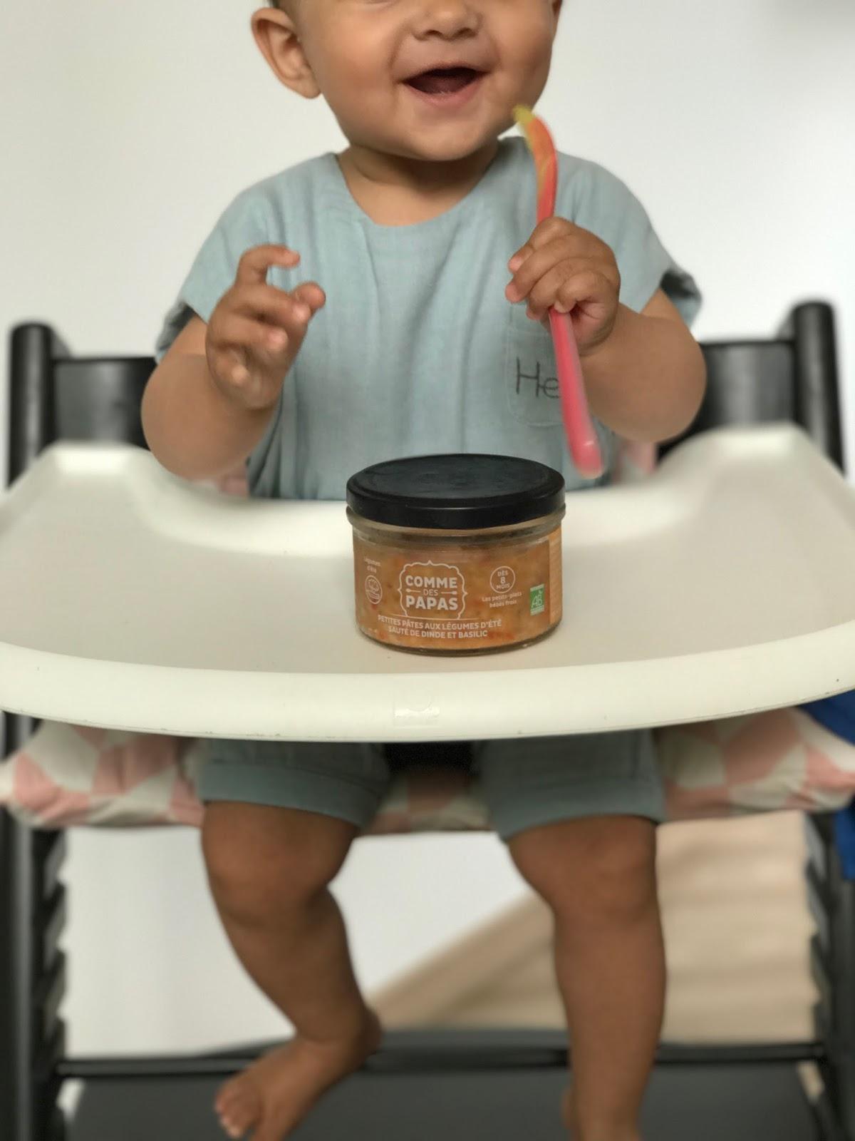 Initier Bébé Au Pot comme des papas: des petits pots bébé frais et gourmets !