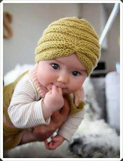 Farklı Örneklerde Örgü Bebek Bere 7