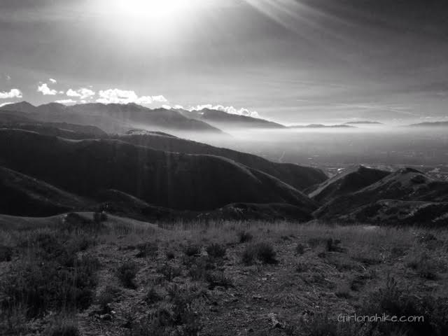 Little Black Mountain, Salt Lake City inversion, SLC smog