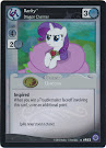 My Little Pony Rarity, Dragon Charmer Premiere CCG Card