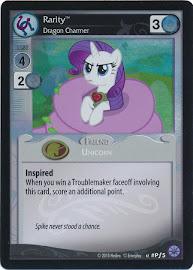 My Little Pony Rarity, Dragon Charmer Premiere CCG Card