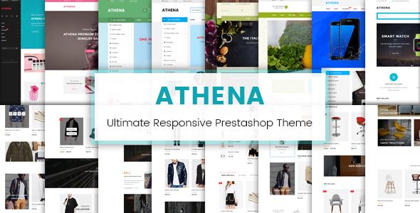 اليكم تحميل قالب بريستاشوب احترافي JMS Athena v1.0.1 مجانا 2018
