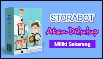 Storabot Akan ditutup Penjualannya