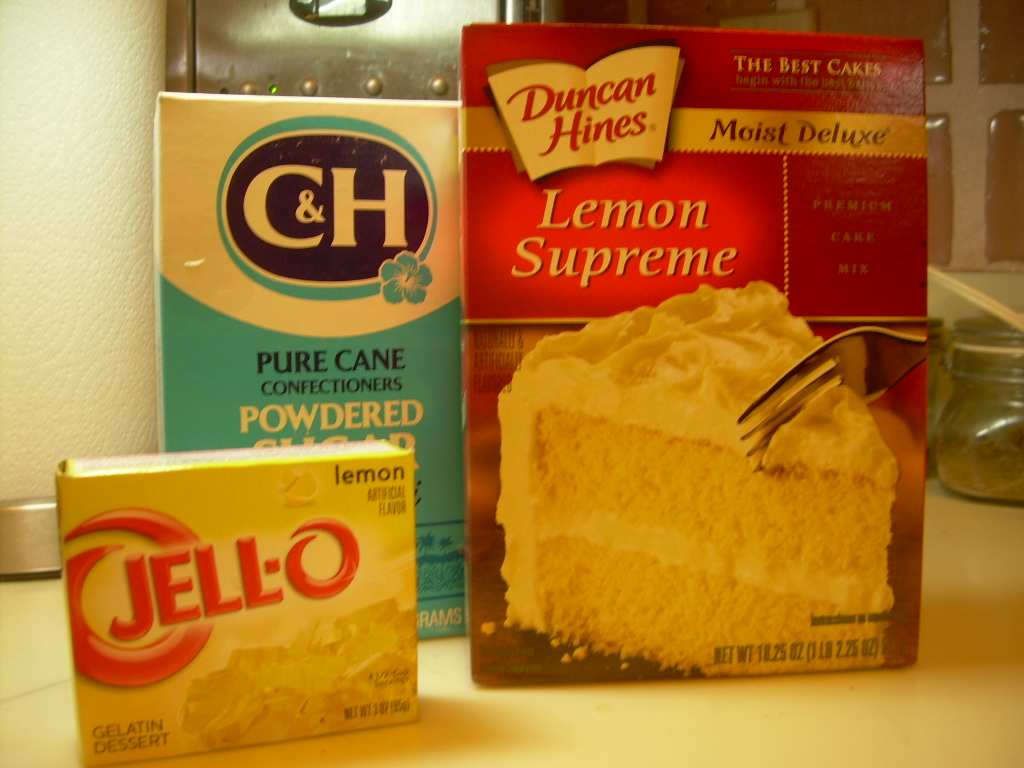 Cake Recipe With Lemon Jello: Designs By Loretta: Refreshing Lemon Jello Cake