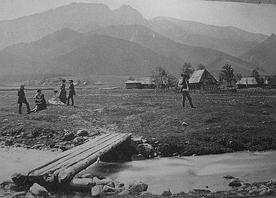 Równia Krupowa (fot. Awit Szubert, między 1876-1878)
