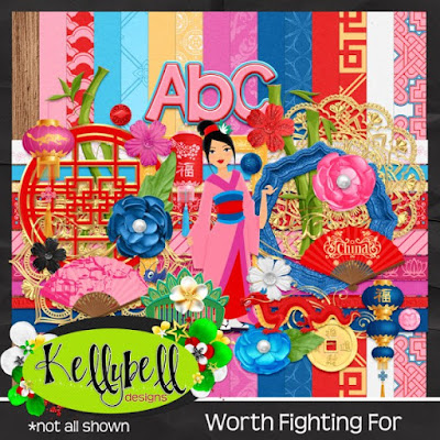 Worth Fighting For - New from Kellybell Designs!