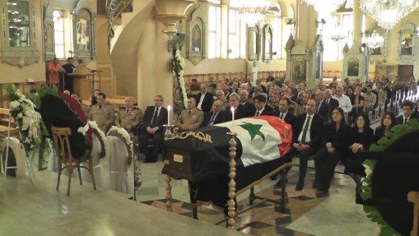 تشييع جثمان رئيس أركان الجيش السوري الأسبق إبان حرب تشرين( فيديو)