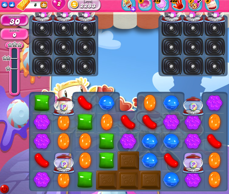 Candy Crush Saga level 2283