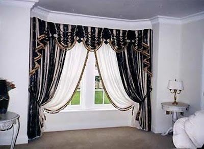 The best types of curtains and curtain design styles 2019, classic curtains