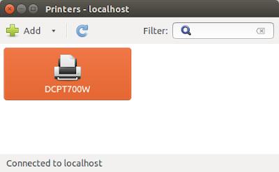 Installasi Driver Printer Brother DCP-T700W