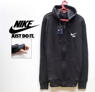 Distro Online Jaket Nike Hitam Code 03