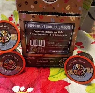 peppermint choccolate mocha coffee
