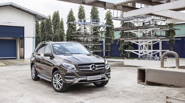 Mercedes GLE 400 4MATIC Exclusive thiết kế hoàn toàn mới