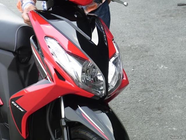 Sơn xe Luvias fi 2014 đỏ đen zin cực đẹp