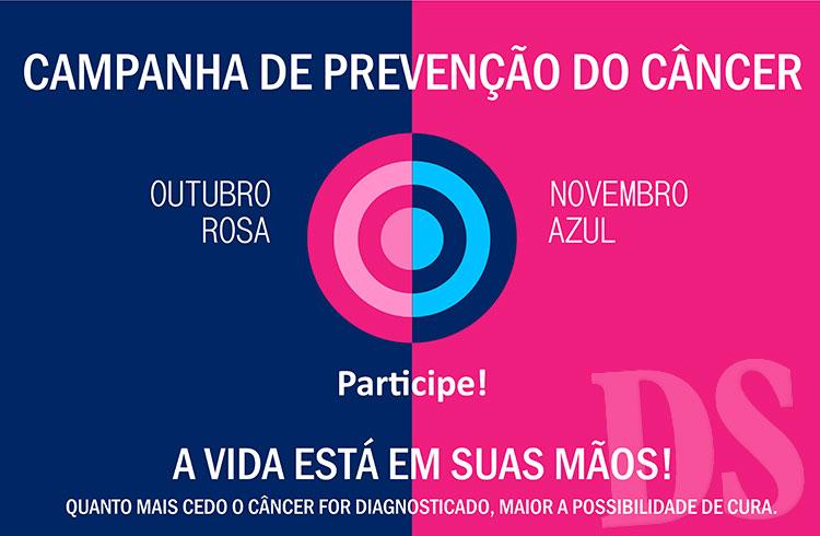 Fundo Social recebe alimentos do Outubro Rosa e Novembro Azul -> Decoração De Outubro Rosa E Novembro Azul